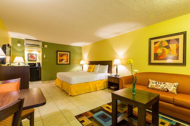 Quartos do Champions World Resort em Orlando