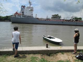 Pesca en el río
