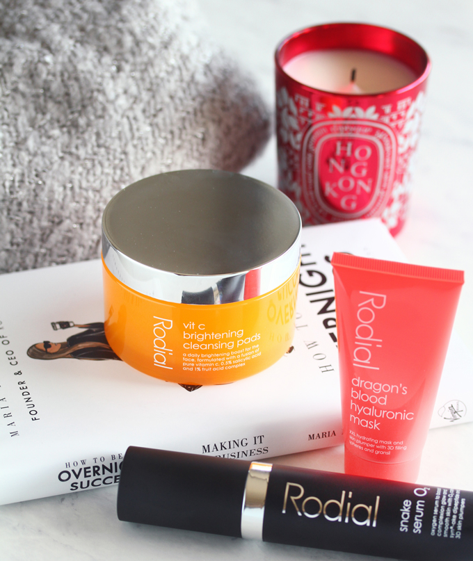 Rodial Skicare, Rodial Review, Rodial Snake Serum O2, Rodial Vitamin C Brightening Pads, Rodial Dragon's Blood Hyaluronic Mask