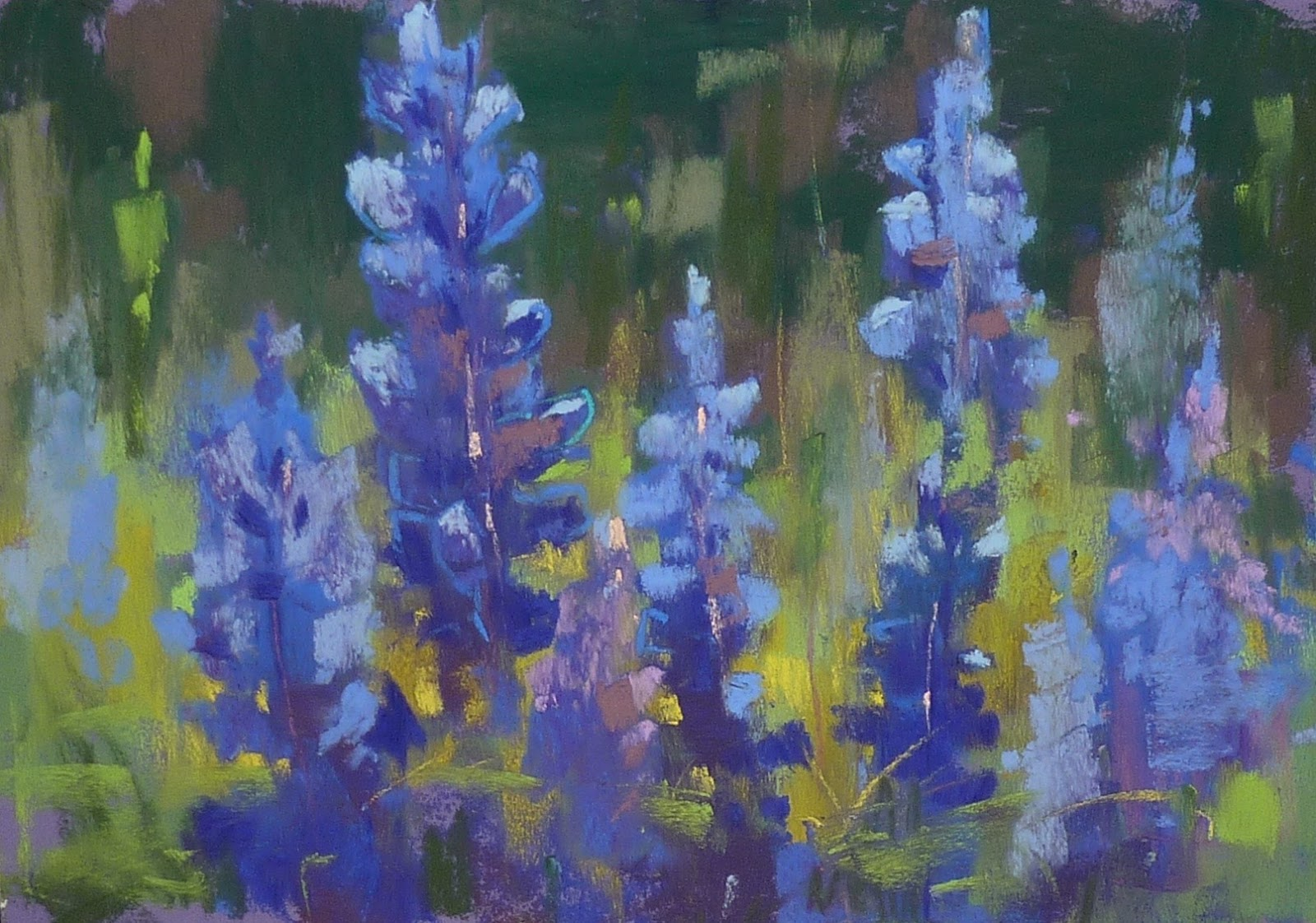 Painting My World Five Tips For More Painterly Bluebonnets