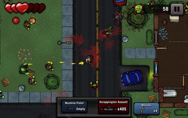 Download Zombie Scrapper Apk v1.13 (Mod Money) Versi Terbaru