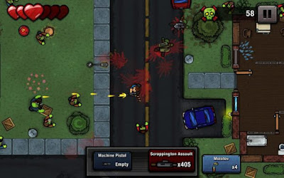 Download Zombie Scrapper Apk v1.13 (Mod Money) Versi Terbaru