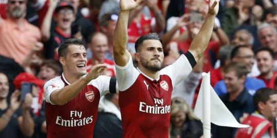 Arsenal Menang Adu Penalti dengan Chelsea, Skor 4-1