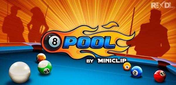 تحميل 8 ball pool مهكرة و مود خرافية