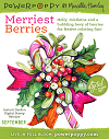Power Poppy Merriest Berries w/Bow