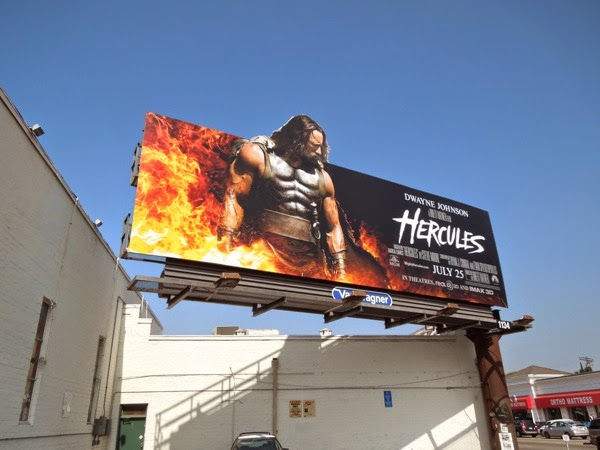 Hercules special extension movie billboard