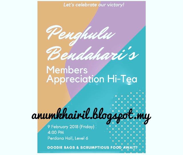 Member Appreciation Hi-Tea