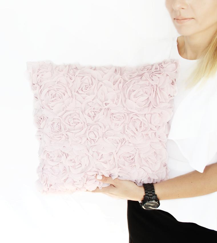 Nowości w mojej garderobie i nie tylko Poduszka z motywem róż H&M Home