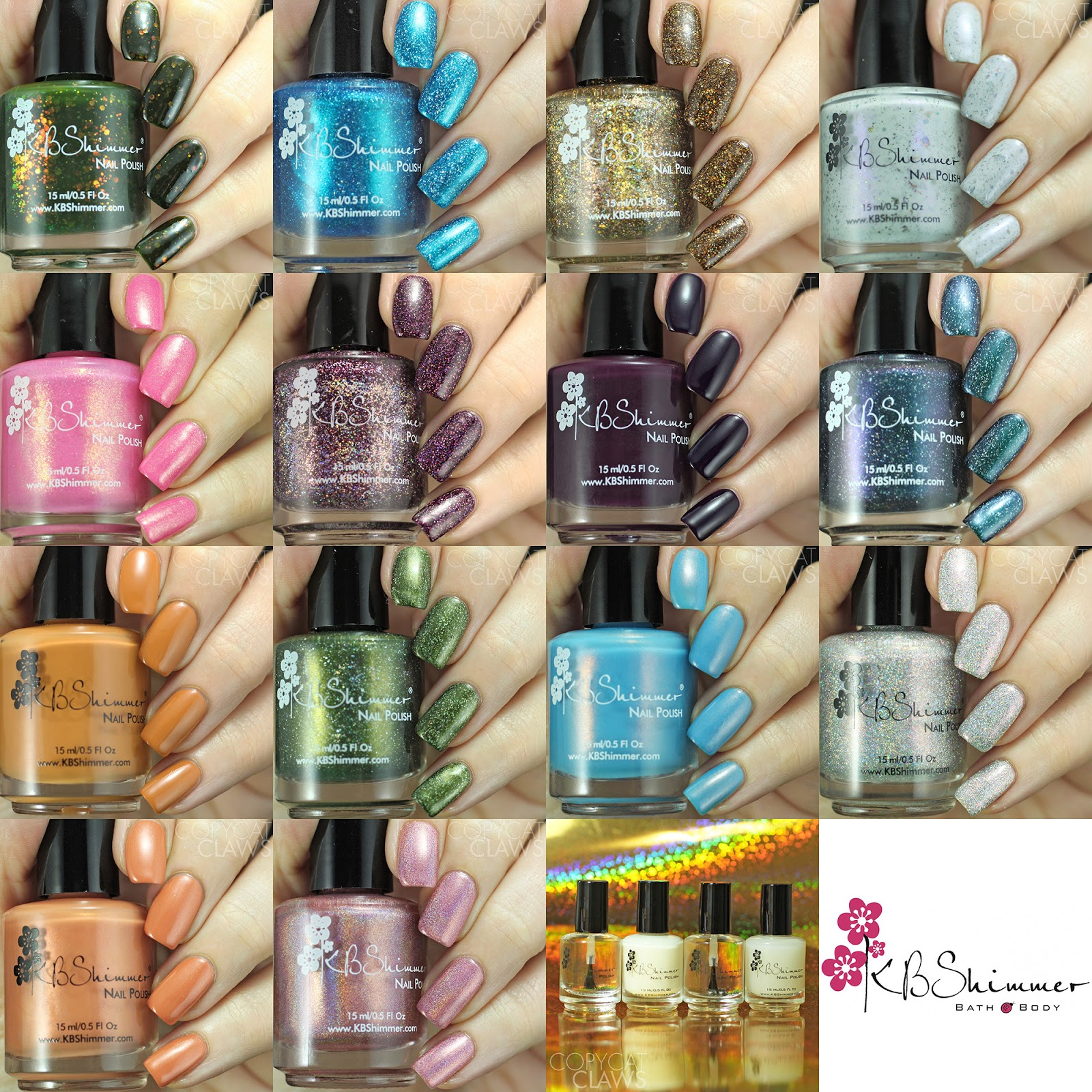 Copycat Claws: KBShimmer Nail Care and Fall 2017 Blogger ...