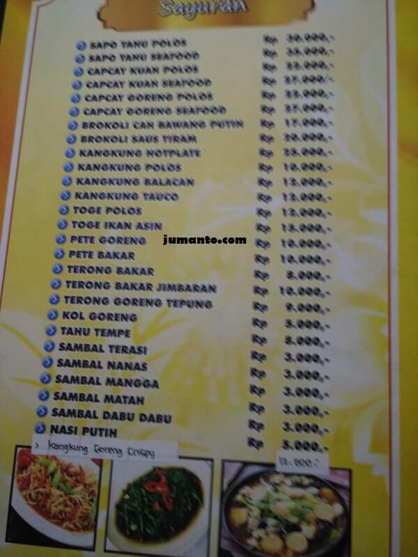 Review Tempat Makan Enak di Lampung: Ikan Bakar Gembul - Catatan Jumanto