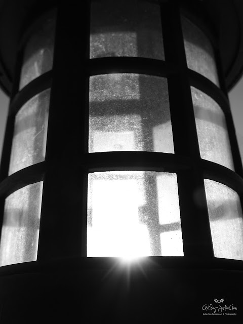 Black & White Photography Print Lantern