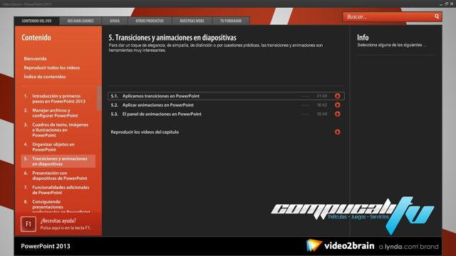 Curso VIDE02BRAIN PowerPoint 2013 Español