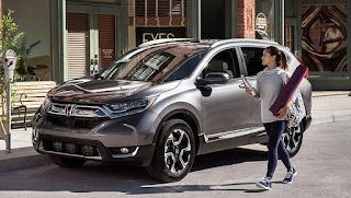 Honda CR-V Test