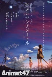 Byousoku 5 Centimeter -5 Centimet trên giây -  2007 Poster