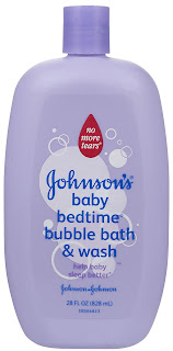 Bubble Wash help baby sleep