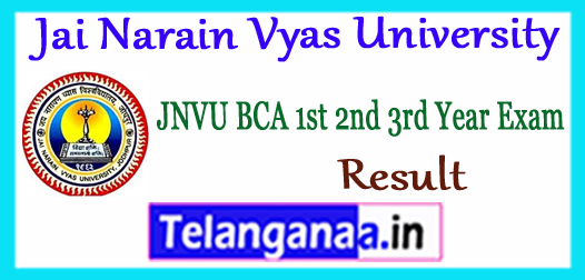 JNVU BE Result 2018 2nd/4th 6th/8th Semester Marksheet