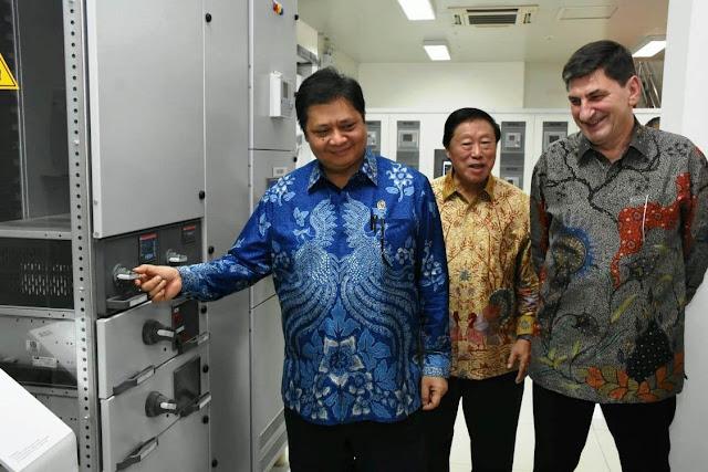 Hari Ini, Menperin Resmikan Pabrik Panel Listrik Tegangan Tinggi  GIS di Tangerang