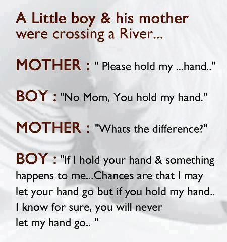 Little boy and mom quotes