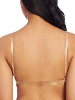 Clear back bra