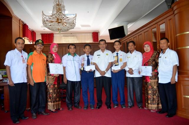 Mukhlis Rahman Bangga,   Prestasi Pelajar SMPN 1 dan SMPN 3 Pariaman Harumkan Nama Kota Pariaman Tingkat Nasional