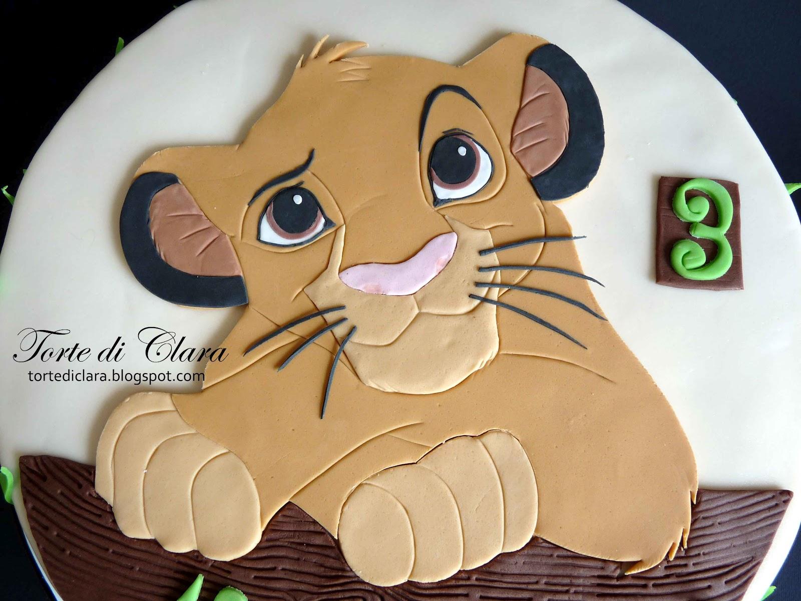 Pumba Cake: Torte Di Clara: Simba Cake