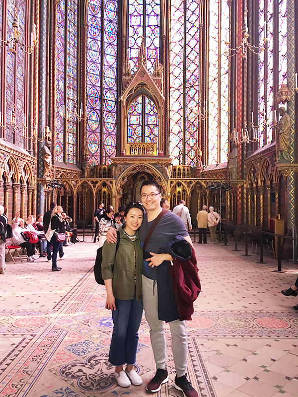 Visiting Sainte Chapelle