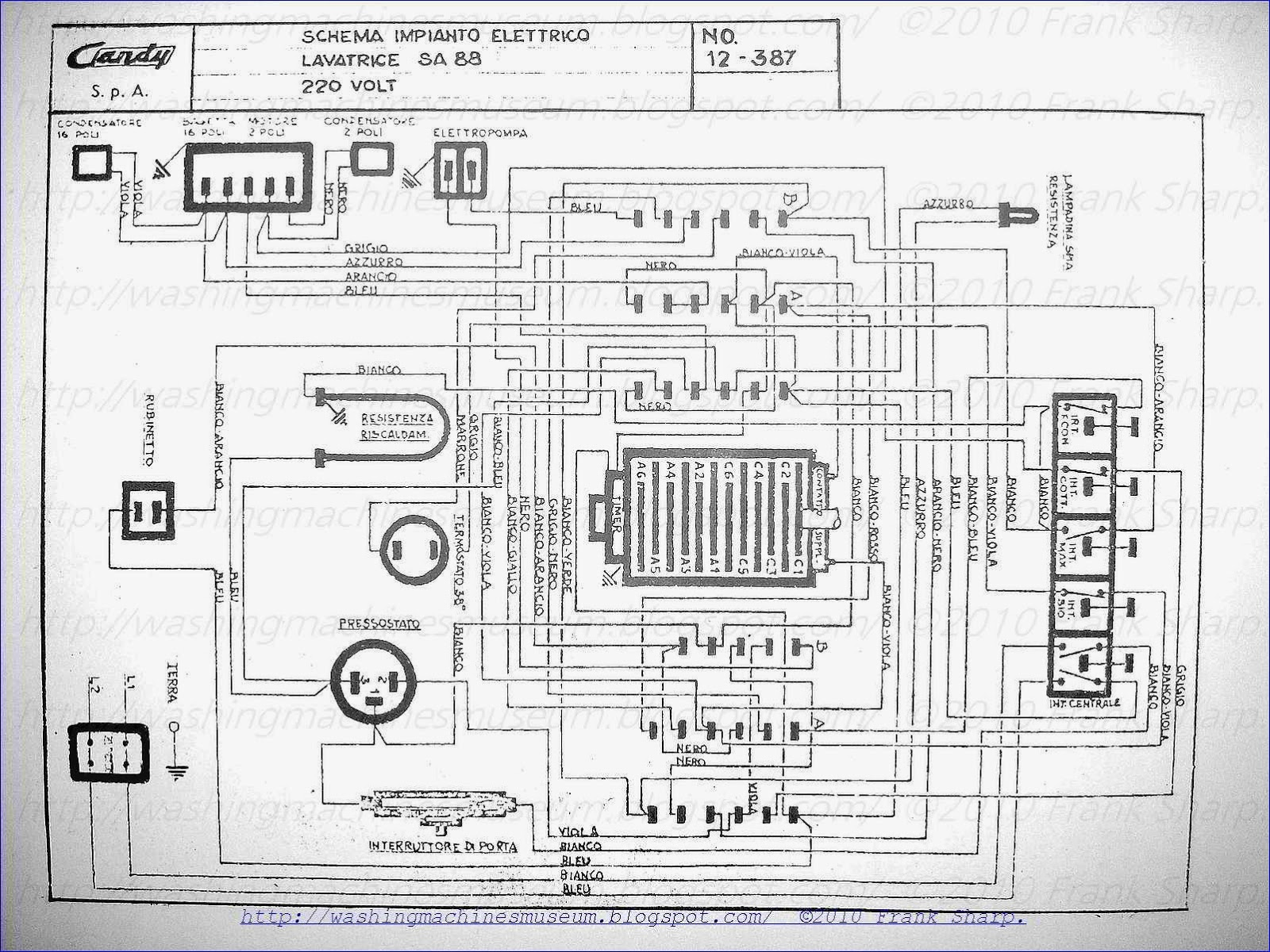 white knight tumble dryer wiring diagram yamaha pacifica 112v diagrams washing machines machine battery
