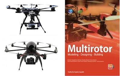 Buku Multirotor Modelling, Designing, Building Cocok Untuk Peminat Drone