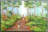 Lukisan Cat Minyak Landscape 0009