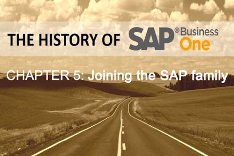 Lịch sử SAP Business One (Phần 5): Gia nhập SAP