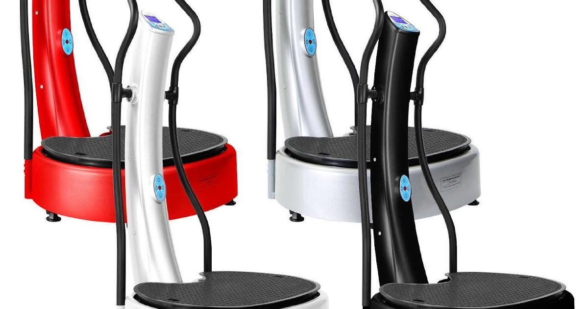 Health and fitness den oscillating triplanar dual motor for Gforce professional dual motor whole body vibration machine
