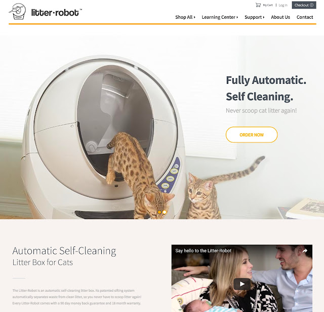 Litter Robot Website