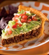 Real Taco Pie Delicious Food Recipes