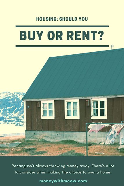Should I buy a house or rent?