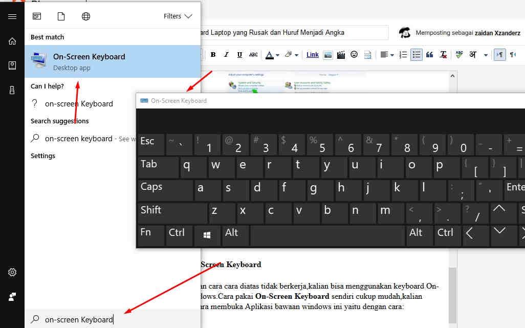 Cara Memperbaiki Keyboard Laptop yang Rusak dan Huruf ...