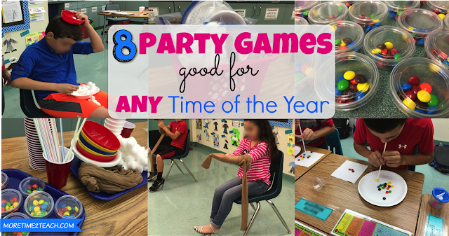 Classroom parties no longer need to be a stressor now that you have this list of eight party games with minimal prep and instructions. Get to playing!