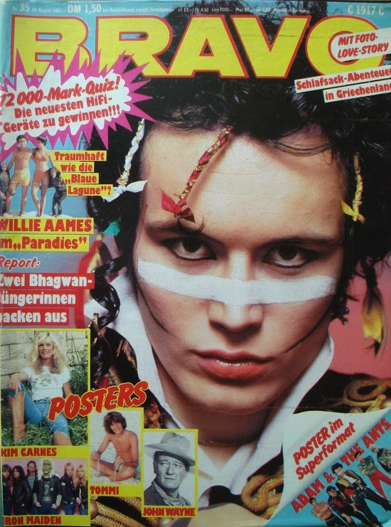 Bravo Magazine August 1981 ft. Adam Ant