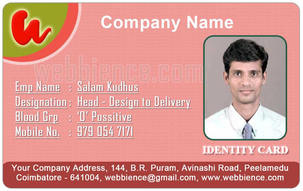 ID Card - Coimbatore - Ph: 97905 47171: Employee ID Cards ...
