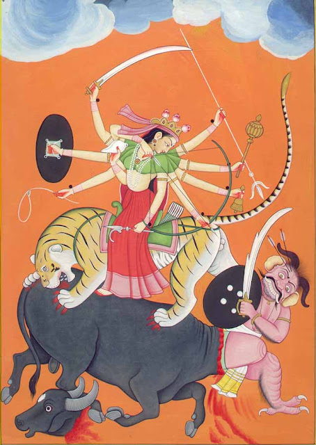 Mahishasura Mardini Stotram for killing arrogance: An Astrological compendium to understand Goddess Chandi