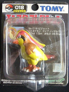 Pidgeot  Pokemon figure Tomy Monster Collection black package series