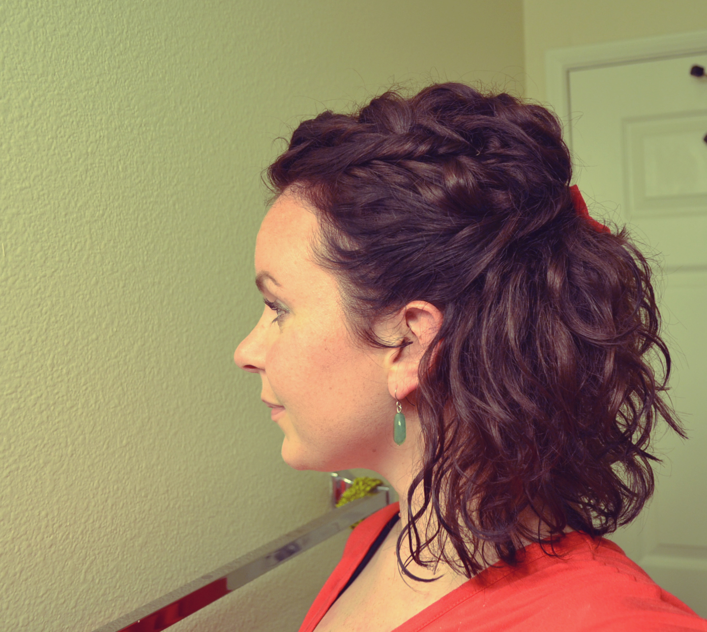 Ways To Wear Naturally Curly Hair Down