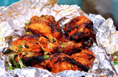 Cara Membuat Ayam Panggang Saos