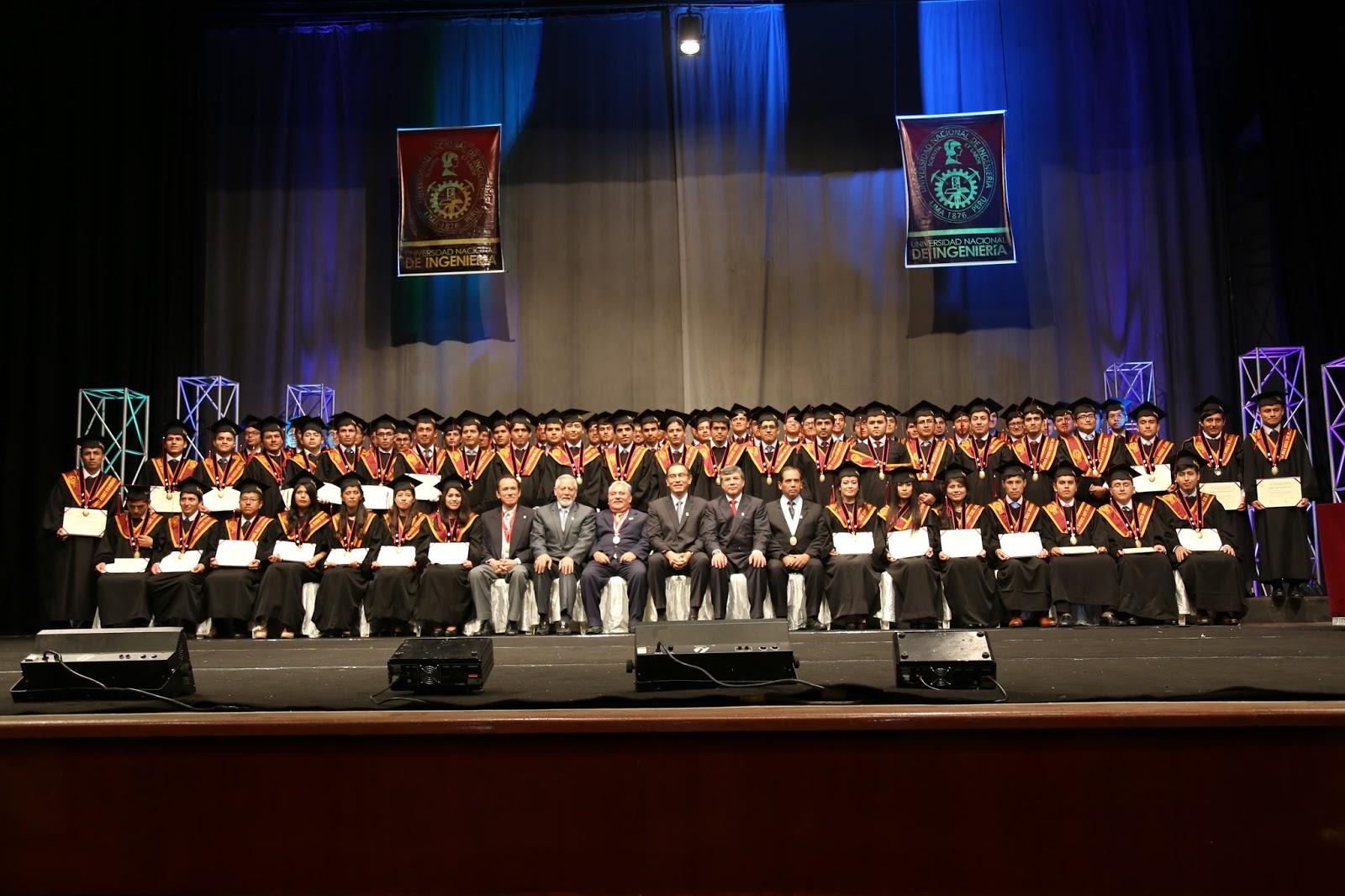 Se realizó ceremonia de graduación de egresados de Ingeniería Civil ...