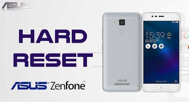 Cara Hard Reset HP ASUS Zenfone Semua Tipe (dilengkapi Gambar)