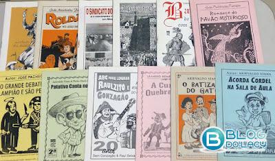 LITERATURA DE CORDEL RECEBE TÍTULO DE PATRIMÔNIO CULTURAL IMATERIAL