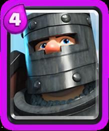 Príncipe das Trevas de Clash Royale