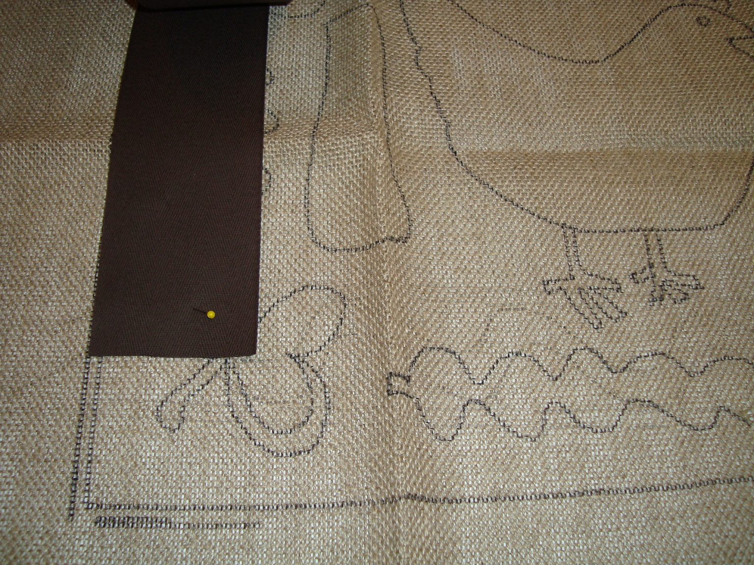 Saundra Of Woodland Junction Binding The Lions Rug Tutorial