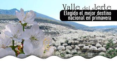 """Los españoles eligen al Valle del Jerte como """"El mejor destino para pasar la primavera"""""""