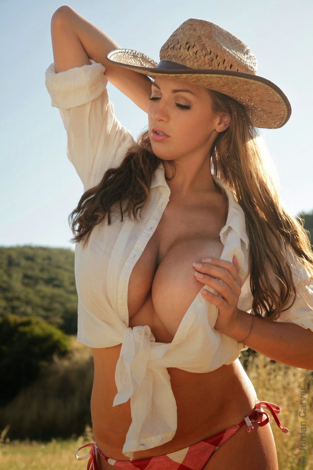 Apologise, jordan carver nude cowgirl can