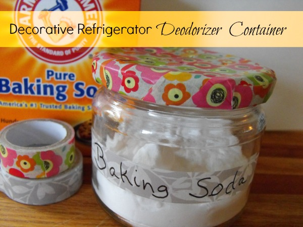 Decorative Refrigerator Deodorizer Container
